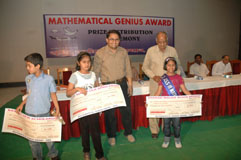 Topper thired prize winner of Class-III