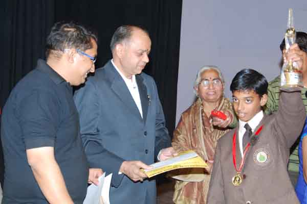 Mathematical Genius Award 2007